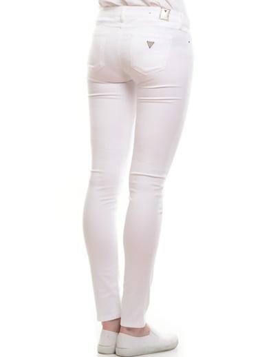 Guess Pantolon Beyaz